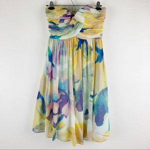 Donna Morgan Sleeveless Silk Dress 2